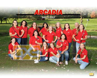 Arcadia girls' golf GG19