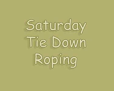 Raymond 2018 Saturday Tie Down Roping Slack & Perf