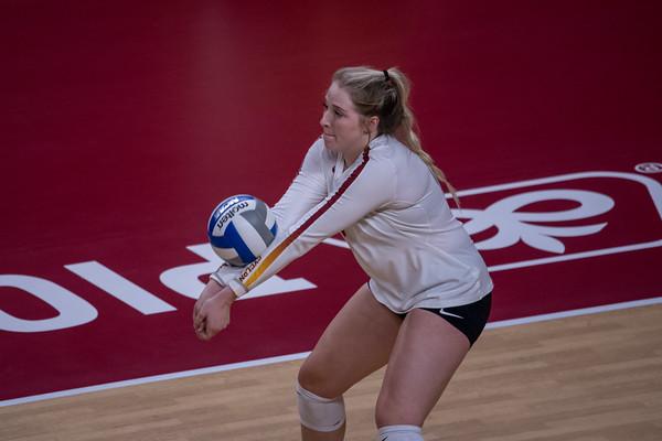 ISU Volleyball vs Baylor 10/09/19