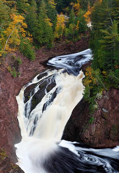 Loop and Swirl - Superior Falls (Wisconsin/Upper Michigan Border)