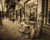 Looking Down Main Stree From Out of Our Past Antiques, Antique Tone