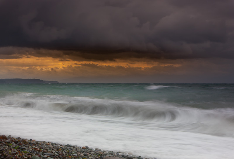 Storm on the strait