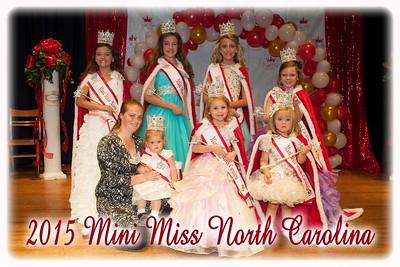 2015 Mini Miss NC