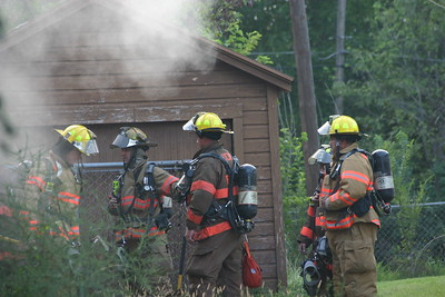 House Fire 1524 N. Matlock (9/1/06)