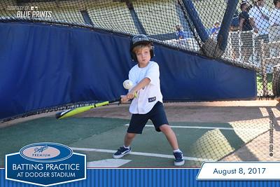 080817 - Dodgers Premium Batting Practice