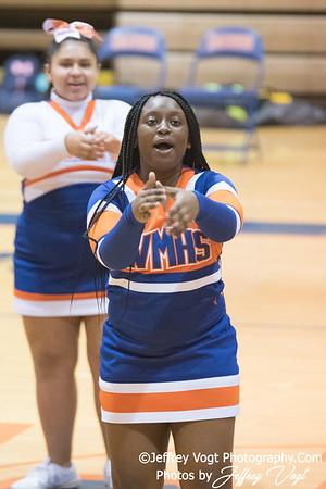 1/31/2018 Watkins Mill HS Varsity Cheerleading, Photos by Jeffrey Vogt Photography
