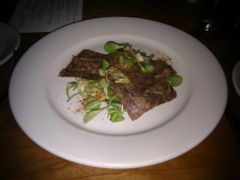 Incanto - Beef Lip & Oxtail Terrina, Artichokes, Tarragon