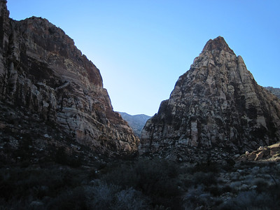 Red Rock: Pine Creek Canyon