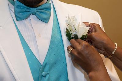 Delonda & Terry Wedding - Pre-ceremony
