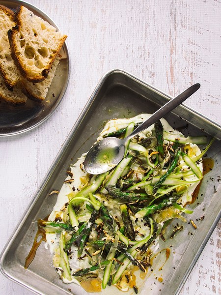 roasted asparagus whipped ricotta honey-4.jpg