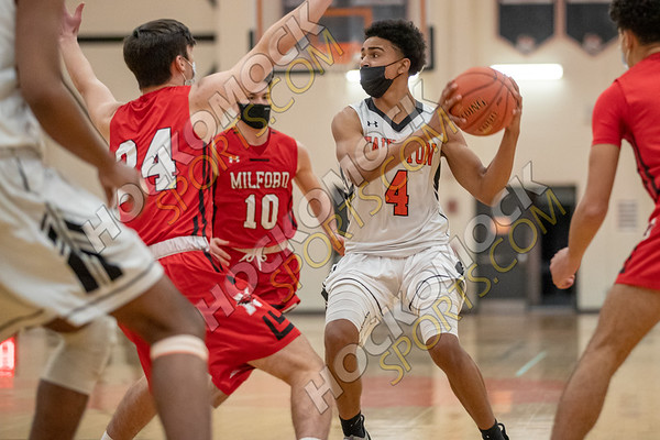 Taunton-Milford Boys Basketball - 01-28-21