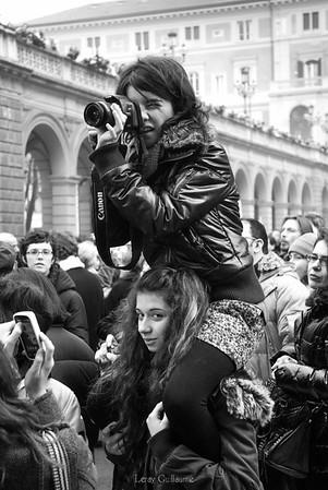 Manifestazione delle donne - Bologna