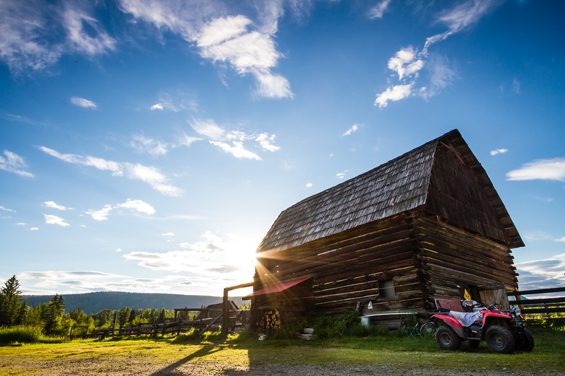 Genevieve Hathaway_BC_Wells Gray_ranch at sunset.jpg