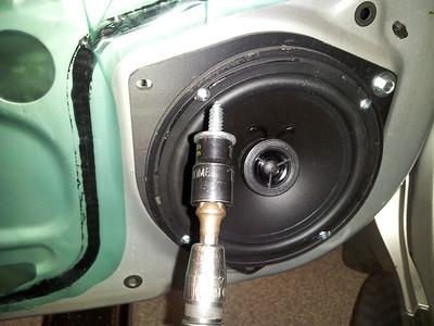 2005 Scion XA Front Door Speaker Installation - USA