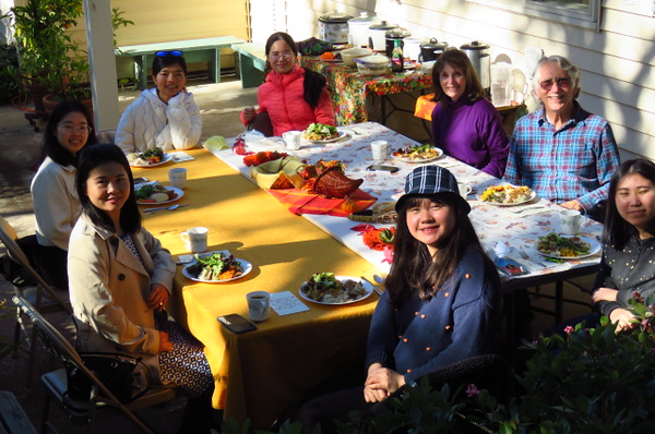An Outdoor Covid Year Thanksgiving - 2020