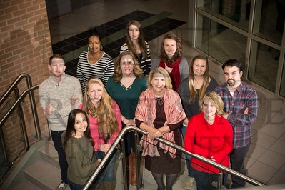 14885 Student Leaders for Nursing Holiday Card 12-10-14