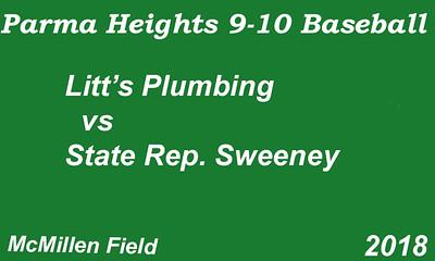 180612 Parma Heights Boy's 9-10 Baseball McMillen Field