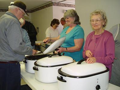 April 21, 2007 Post 200 Bean Supper