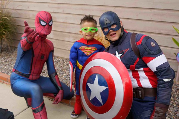 Joey 's Four Year Old Super Hero Party