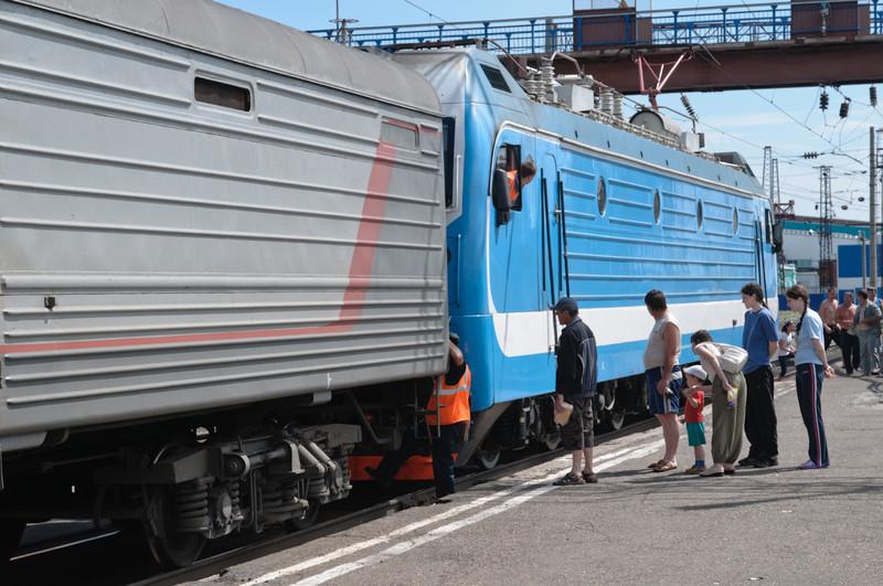 Und noch einmal eine neue Lokomotive.