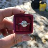 1.19ctw Old European Cut Diamond Halo Ring by A Jaffe 28