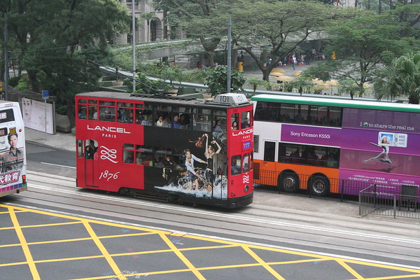 Hong Kong Trams - 4 March 2007