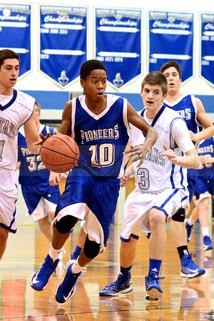 Lampeter-Strasburg JV/V Boy's Basketball v. Garden Spot 1.7.13