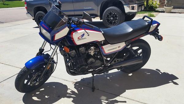 Honda CB700SC