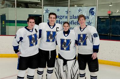Hempfield Hockey Senior Night 2015