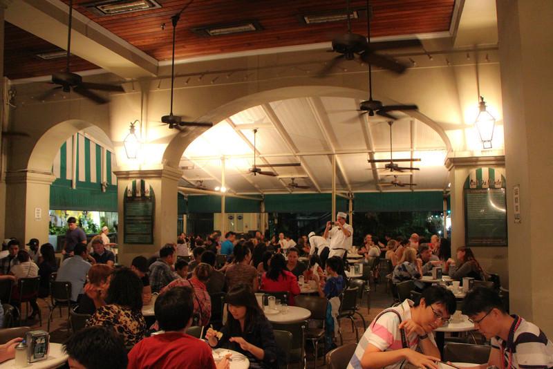 Beignet's at Cafe DuMonde...