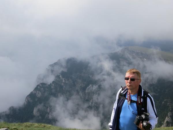 First day, climbing in Bucegi