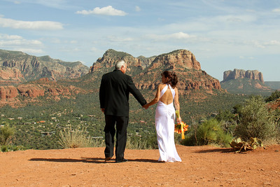 Airport Vortex Wedding Site in Sedona