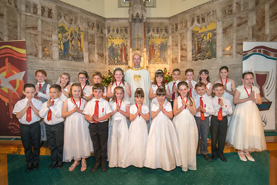 ST BERNADETTE'S COMMUNION 2014