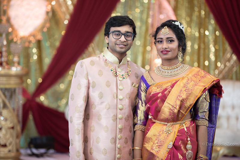 Sandesh and Sahithi Engagement