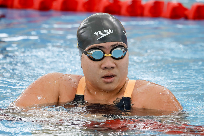 PARA SWIMMING - THERESA RUI SI GOH in action & representing Singapore in Women's 100 LC Meter Breaststroke Finals at Aquatics Centre, KL on September 20th, 2017 (Photo by Sanketa Anand)