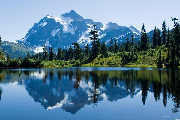 Mount Shuksan & Mount Baker