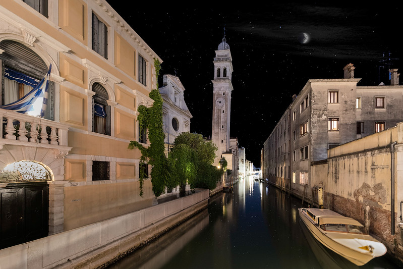 Venice canal under the stars-.jpg