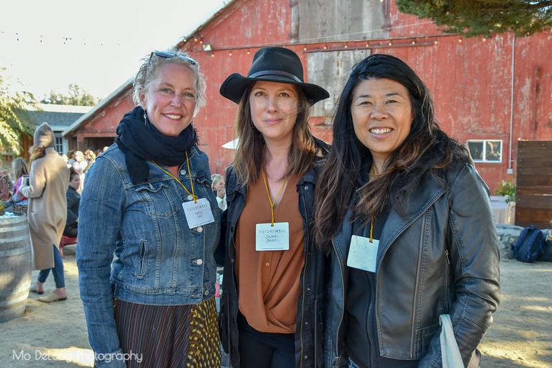 Kathryn Lukas, Sarah Bell and  Grace Liu