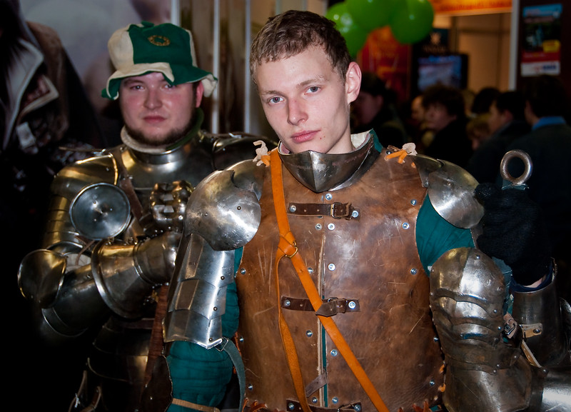 Knight at Igromir 2009