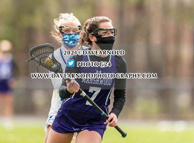 4/22/2021 - Girls Varsity Lacrosse - Marshwood vs Kennebunk