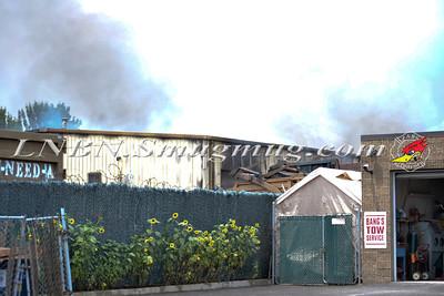 East Farmingdale Fire Co. Building Fire Dale St 7-28-12