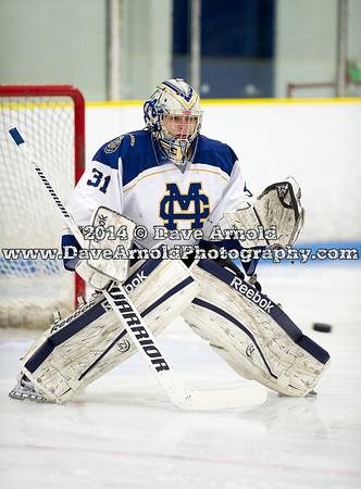 2/8/2014 - Boys Varsity Hockey - BC High v Malden Catholic
