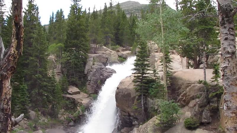 Sky Pond - Alberta Falls 2.MOV