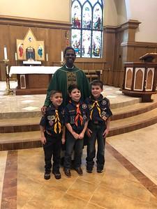 Scout Sunday - Light of Christ Award