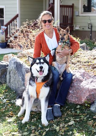 Lauren with Tres & Santee