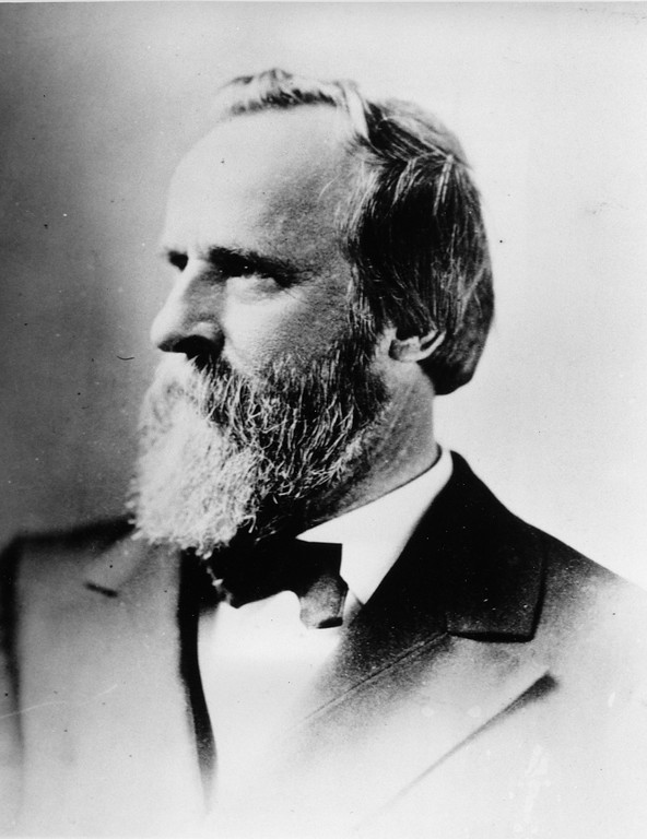 . Rutherford B. Hayes, the 19th president of the United States of America, is seen in this undated photograph.  (AP Photo)