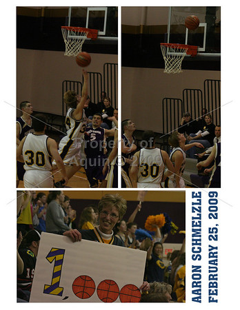 aaron's 1000th point . 2.25.09