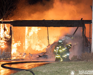 Garage/Dwelling Fire - 10 Edenfield Rd, Penfield, NY - 3/12/21