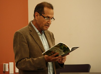Poetry Reading with Allal El Hajjam, Emory, April 2018