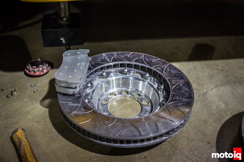 Nerd's Eye View: K-PAX Racing Volvo S60  front brake rotors and pads